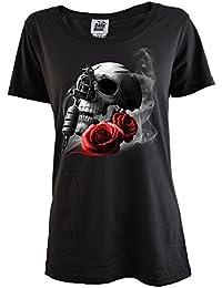 Darkside Clothing - T-shirt - Femme noir noir taille unique