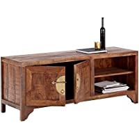 Wolf Möbel China 8276TV Mueble bajo con 2Puertas, Madera, Forest, 42x 140x 55cm
