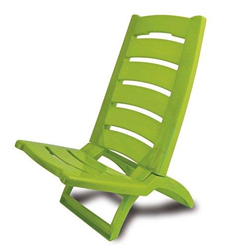 Adriatic sedia da spiaggia marmo tinti pieghevole sedia a sdraio sole mare da giardino di plastica lato basso