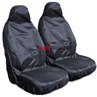 TRANSIT VAN CONNECT (02+) PREMIUM BLACK WATERPROOF SEAT COVERS 1-1