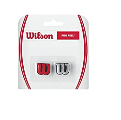 Wilson Profeel Tennis Vibration Dampener (Red/Silver)