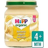 Hipp Banane Biologique Petit Yogourt 125G - Paquet de 2
