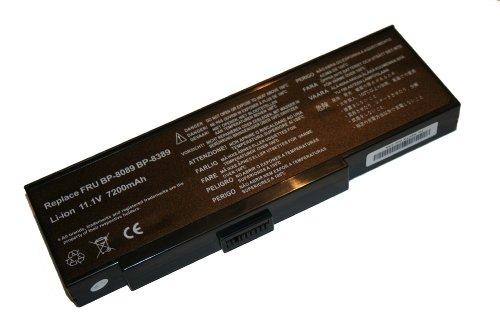 Akku für Amilo K7600 Serie / Medion MD42100 - 6600mAh