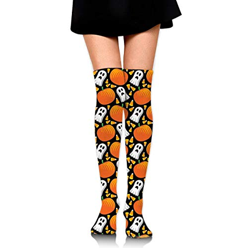 suzhouxiu Happy Halloween Womens Knee High Socks Long Socks Sport Socks Thin for Running,Medical,Athletic,Travel