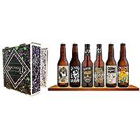 Grâce à ce Discovery Beer Book, découvrez et dégustez 6 bières 'Crafts' différentes, le coffret idéal pour les amateurs de bières souhaitant développer leur palais en découvrant de nouveaux styles de bières.