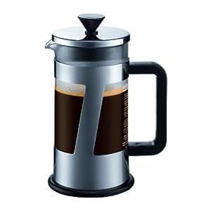 bodum 10891 16 crema cafeti re piston 3 tasses 0 35 l inox brillant cuisine maison. Black Bedroom Furniture Sets. Home Design Ideas