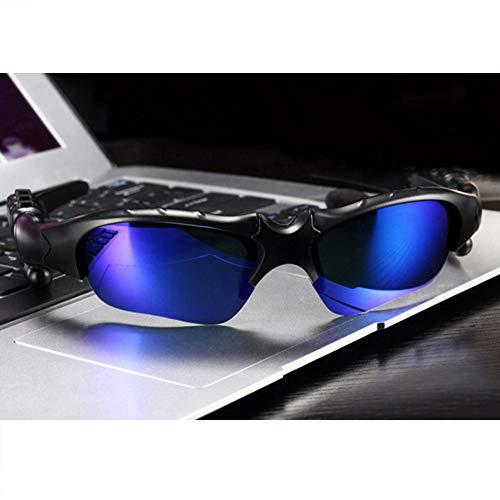 HKYMBM Intelligente Bluetooth-Brille, Extremsport-Sonnenbrille Geeignet für Sportler mit Bluetooth-Brille, Kompatibel mit Ios, Android, Samsung-Tablets usw.
