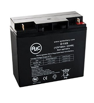 AJC Battery Direct Transport Products Cruiser 12V 18Ah Wheelchair Battery - This is an AJC Brand Replacement