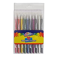 Grafix Twistable Crayons, Pack of 10