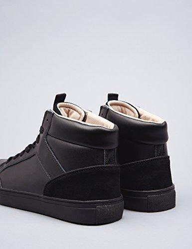FIND Sneaker a Collo Alto Uomo Nero (Black) Precios Baratos En Línea Tienda De Venta Barata Línea De Bajo Coste Amazonas PBw7JaOXI