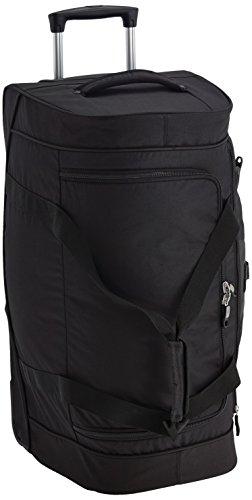 Samsonite Wanderpacks Duffle/Wh. 65/24 Bolsas de viaje, 65 cm, 65 L, Negro (Negro)