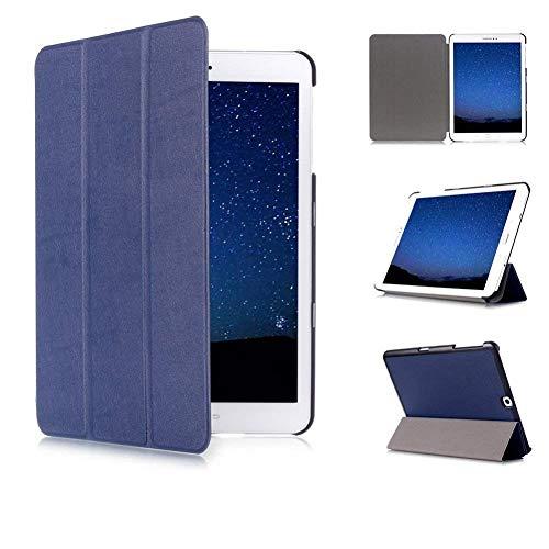 Skytar Cover per Galaxxy Tab S2 9.7'',Protezione in PU Pelle Smart Case Copertura Custodia per Samsung Galaxy Tab S2 9.7 Pollici T810 / T813 / T815 / T819 Tablet Cover con Funzione di Sostegno,Blu navy