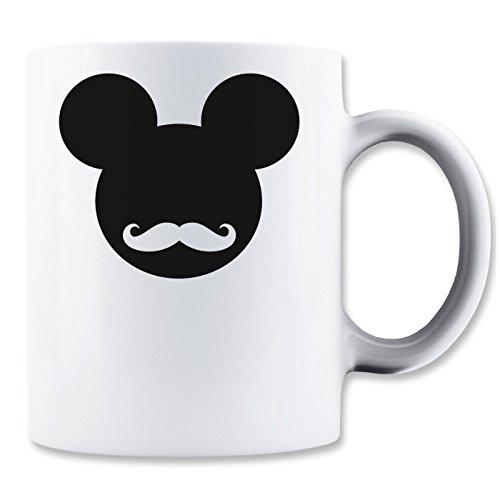 Mickey Mouse Hipster Logo Graphic Design Mug