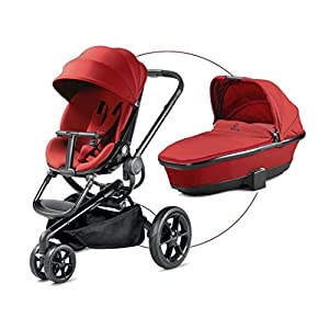 Quinny Moodd - Pushchair - Carrycot For Free - Red Rumour   13