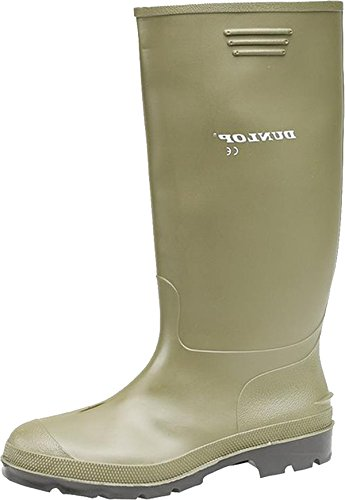 Dunlop Ladies Pricemastor PVC Welly Womens Plain Rubber Pull-On Wellington Boots