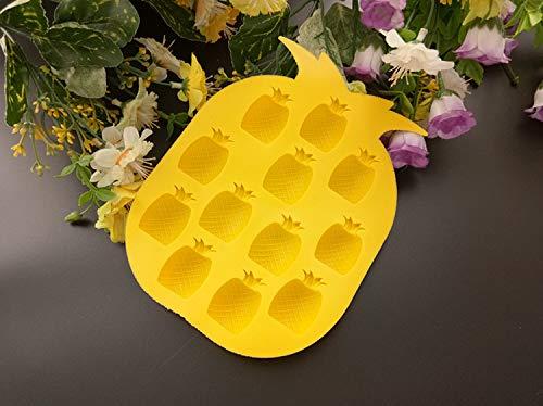 Winpavo Eiswürfelformen Silikonform 2 Ananas Kreative Eiscreme EIS DIY Hausgemachte EIS Am Stiel Box EIS Eiswürfelform