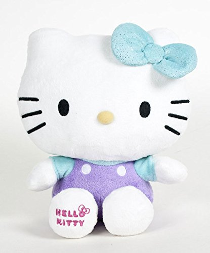 Hello Kitty - Green Shiny Ribbon Plush - 20cm 8""