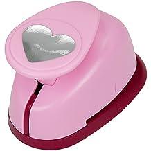 efco 2,5 cm tamaño mediano en forma de corazón de Jennifer ellory, Rosa