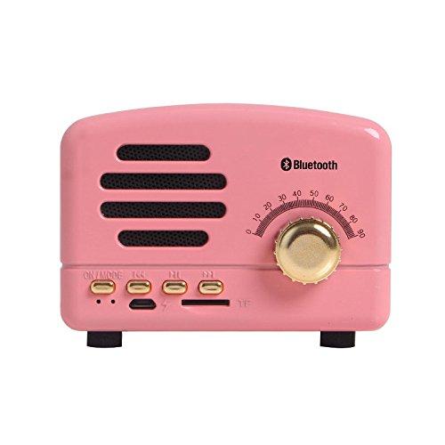 RFV Sound DOO Drahtlose Nette Mini Bluetooth Lautsprecher Auto Kleine Prince Subwoofer Karte Telefon Audio,Prinzessin Pulv,95 * 60 * 70mm