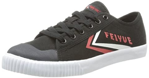 Feiyue Fe Lo Ii Icy, Baskets mode mixte adulte - Noir (676 Black/Red/White), 37 EU