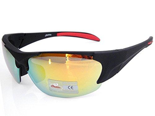 Indian Moto Lunettes de soleil avec verres jaunes ou gris - Jaune - XXS, XS