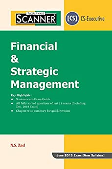 PDF Descargar Scanner-Financial & Strategic Management (CS-Executive) (For June 2019 Exam-New Syllabus)