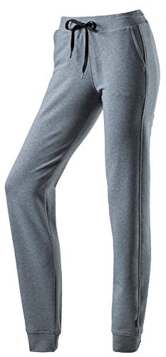 Schneider - Damen Wellness-Hose mit hautsensorischem Tragekomfort, CAMBRIDGEW (6577) Stahl-meliert (9017)