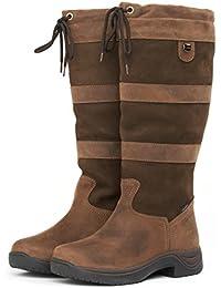 Dublin Waterproof River Tall Boots Dark Brown - NEW