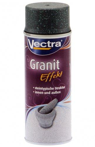 Vectra 6510 Granit Effekt Spray Schwarz Matt 400ml UN1950 (ALC11)