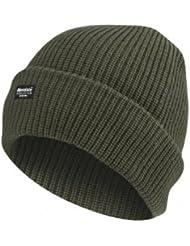 7X © Produit Original - Bonnet Oversize Thinsulate - Isolation Thermique - Protection contre le Froid - Coloris Kaki - Ski - Snow - Surf - Airsoft - Paintball - Chasse - Pêche - Outdoor - Randonnée