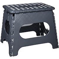 Arregui TB-027-G - Taburete multiusos plegable, 290x220x270 mm, Gris - mueblesdebanoprecios.eu - Comparador de precios