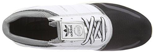adidas Los Angeles, Baskets Basses Homme, Taille Unique Blanc - Weiß (FTWWHT/FTWWHT/CBLACK)