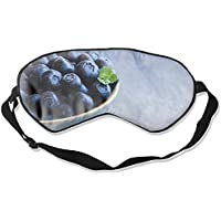 Cute Blueberries Cool Eye Atmungsaktiver Augenschutz Schlafmaske für Männer Frauen Kinder Weiß preisvergleich bei billige-tabletten.eu