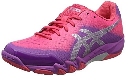 Asics Gel-Blade 6, Chaussures Multisport Indoor Femme, Rose (Orchid/Prune/Rouge Red), 37 EU