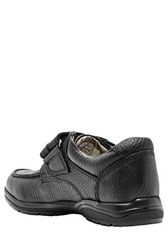 next Garçons Coupe Standard Chaussures Une Bride En Cuir Haut De Gamme (Garçon) Noir