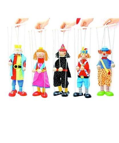 1 Stück _ Marionette - Holz -