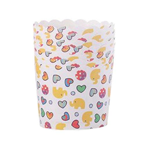 Blancho 96 PCS Tasse de Cupcake de papier de cuisson, Tasse de moule de cupcakes créative #22