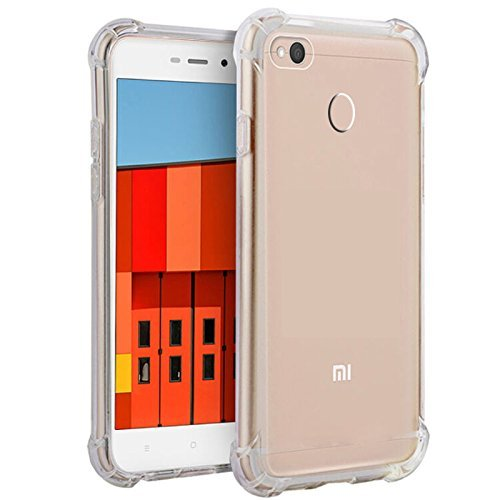 Parallel Universe Xiaomi Redmi 3S Prime Back Cover Case Shock Absorbing TPU - Transparent