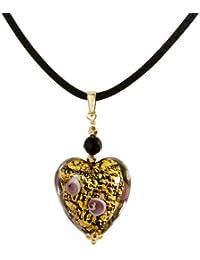 Bella Donna Damen-Halskette mit Anhänger 585 Gold