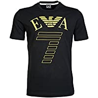 2737545P25400020 Armani Emporio T-Shirt Uomo Cotone Nero