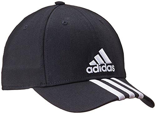 Adidas Cappello con visiera, motivo a 3 righe Nero nero OSFL
