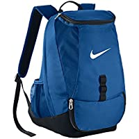 Nike Club Team Swoosh Backpack - Mochila para hombre, color azul, talla única