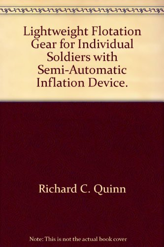 Lightweight Flotation Gear for Individual Soldiers with Semi-Automatic Inflation Device.