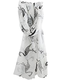 Zest Flamingo Large Print Fashion Scarf