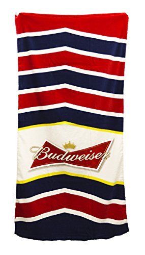 anheuser-busch-budweiser-chevron-beach-towel-30-by-60-by-unknown