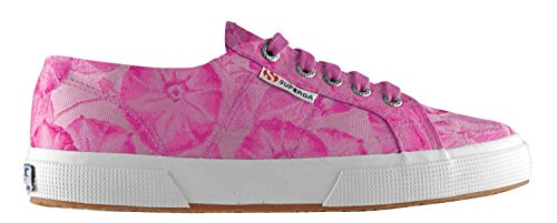 Superga 2750 Fabricw Vanity, Chaussons Sneaker Adulte Mixte Rose (Fuxia)