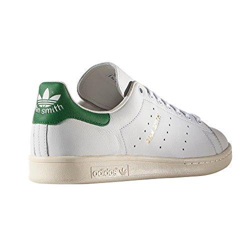 Pelle Ginnastica S75074 Ftwr Scarpe Adidas Uomo White Smith Sneaker da Basketballs da Green Bianca in Stan 5UUwY7