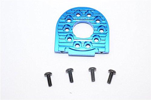 Tamiya TT-02B & TT-02 Tuning Teile Aluminium Adjustable Motor Mount (For 16T-25T) - 1Pc Blue -