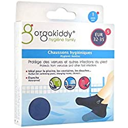 Orgakiddy Chaussons Hygiéniques 1 Paire - S