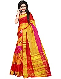 Indian Fashionista Cotton Silk Saree (Nrpt1109C_Multicolor)